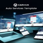 Auto Services Elementor Free Template Kit Download