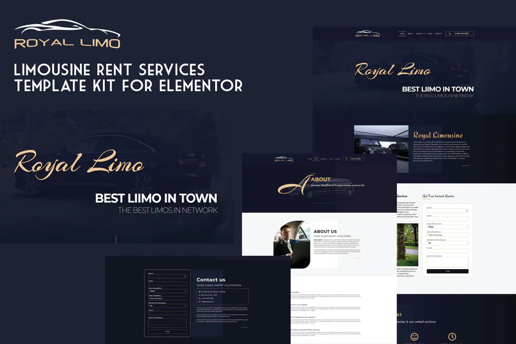 Luxury Car Dealer Website Templates Free Download