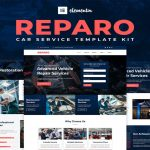 Best Car Repair Website Templates Free Download (Elementor)