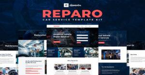 Best Car Repair Website Templates Free Download (Elementor)