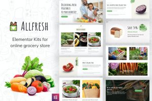 All Fresh - Grocery Store Website Template Kit