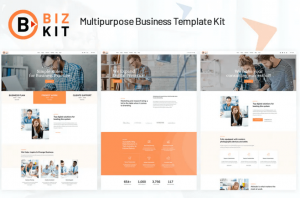 Bizkit Multipurpose Business Website Template Free