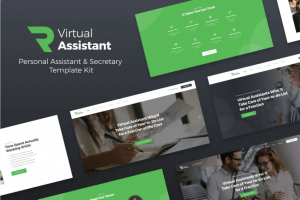 Revirta - Virtual Assistant Website Template Elementor
