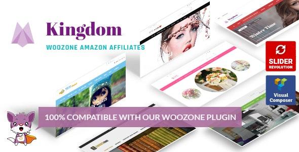 Kingdom woocommerce Amazon Affiliates Theme Features, Download